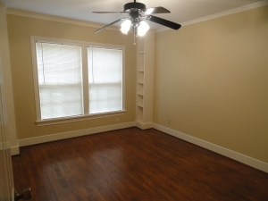 bedroom 2 with built in shelves at 428 Sunny Lane